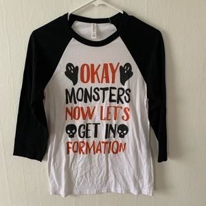 """Look Human """"Get in Formation"""" Halloween T-Shirt"""
